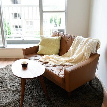 【LDK】ソファーでゆっくり一休みを。