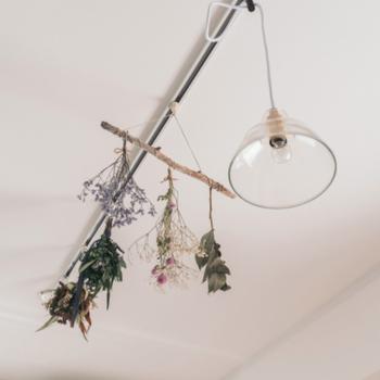 照明】リビングの天井にはライティングレールが。照明はお好みのものを!