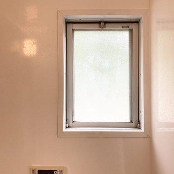 換気に便利な小窓付き。