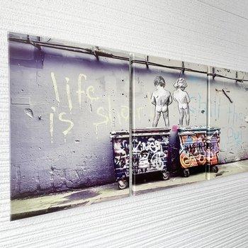 【共用部】廊下にはちょっとしたアートが飾られていました。