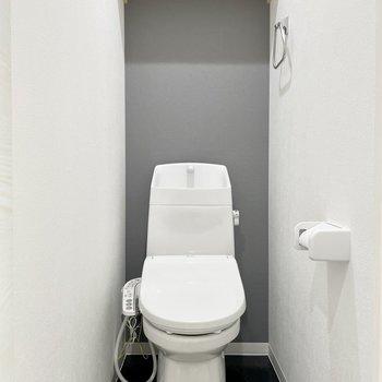 トイレも同じくナチュラルな感じがする!