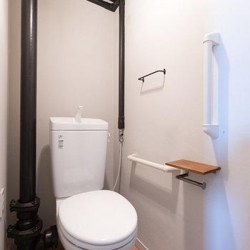 トイレにもコダワリのリノベーション。