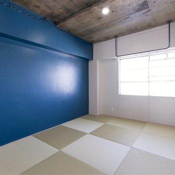 【和室】落ち着いた雰囲気の和室、ベッドでも布団でもぐっすり眠れそうです。