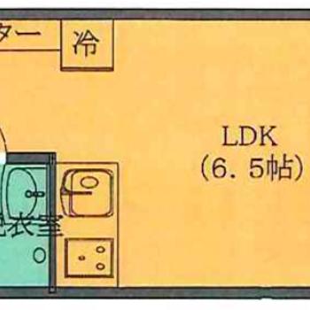 ひとり暮らしにぴったりの1DKです。