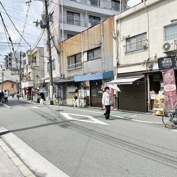 【周辺環境】中津はとにかく路地のあちこちにお店があります。なので自転車があるととても便利。
