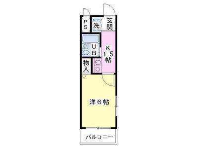 第3センチュリー渋谷の間取り