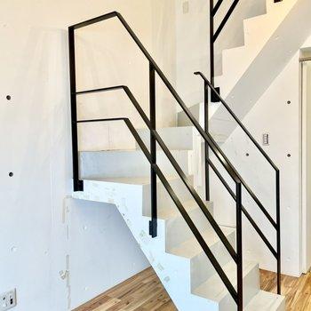 上階に上がってみます。