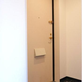 玄関はフラット。(※写真は前回募集時のものです)