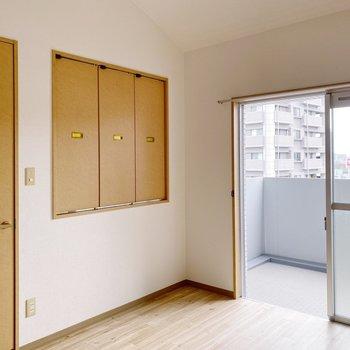 【2階】あの木枠はなんだろ…?
