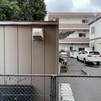 眺望は駐車場。(※写真は同間取り別部屋のものです)