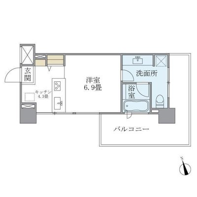 Coursの間取り