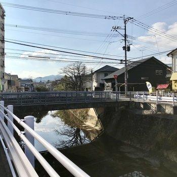 これが樋井川です!