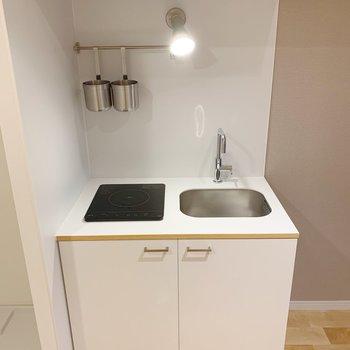 【完成イメージ】キッチンはオリジナルのシステムキッチン。