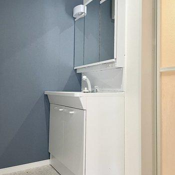 洗面台もしっかり独立しています。