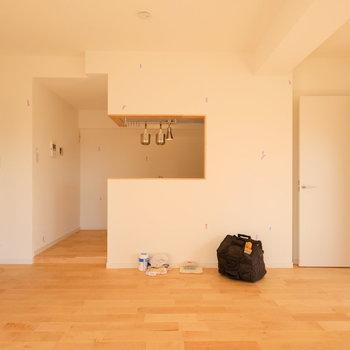 【LDK】憧れの対面キッチン。 ※写真は前回募集時のものです