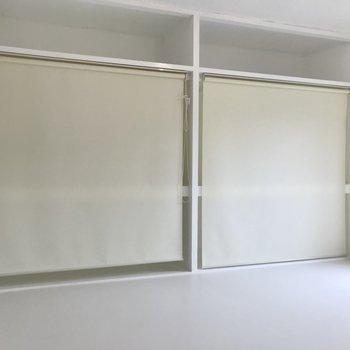 この真っ白空間…!