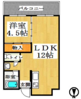 橋本第一綜合ビルの間取り