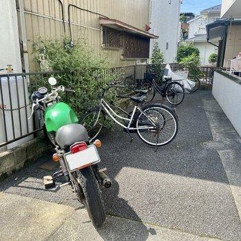 バイクも相談可能です。