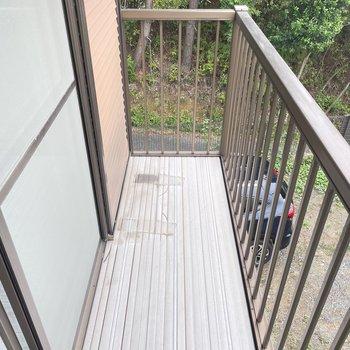 【2階】バルコニーはこれくらいの広さ