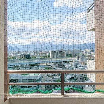 高台で8階なので見晴らしがいいです!