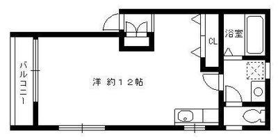 La casa MIYAKO(ラカーサミヤコ)の間取り