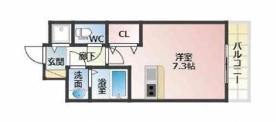 クレアート大阪イーストジーフォー(クレアート大阪EAST G4)の間取り