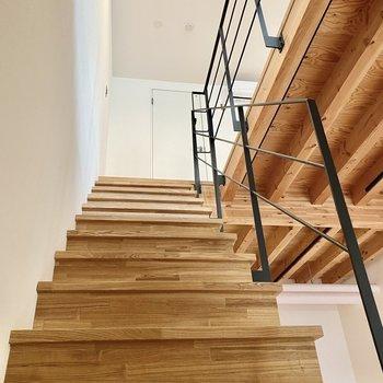2階へ言って見ましょうか。