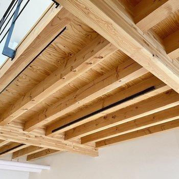 ちなみに天井には沢山のライティングバーが取り付けられていましたよ。