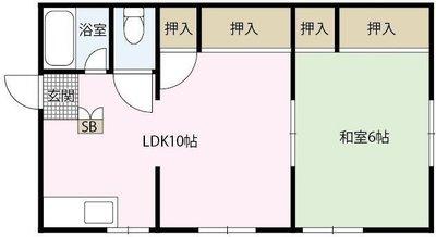 長井アパートの間取り