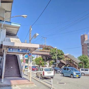 竹下駅もすぐ近く!晴れた日は自転車、雨の日は電車と使い分けてもいいですね。