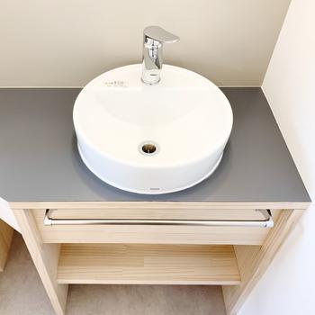 【イメージ】洗面台はコンパクトタイプですが新設でつきます