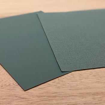 イメージ】寝室のアクセントカラーには緑が採用されました!