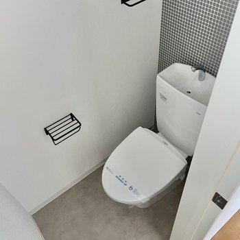 なんと、トイレもお洒落だなんて・・!