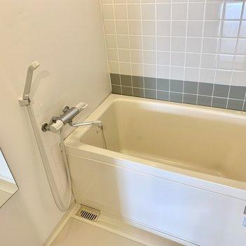 お風呂は既存をプチリニューアルしました!