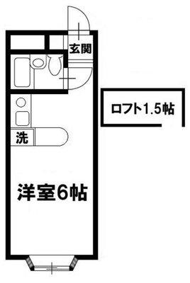 ベルピア津田沼Ⅱ-1の間取り