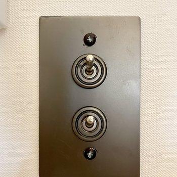 一部のスイッチもめちゃくちゃかっこよくなっております!