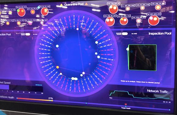 Paloalt社のサイバー攻撃可視化エンジン