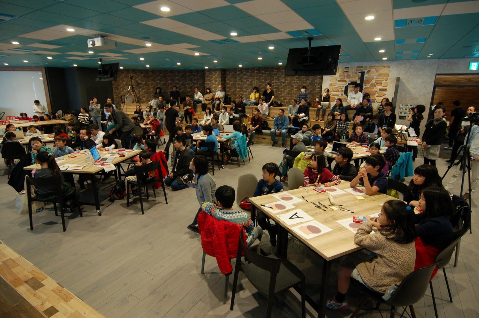 Hour of Code Japan 2015オープニングイベントに参加しました!