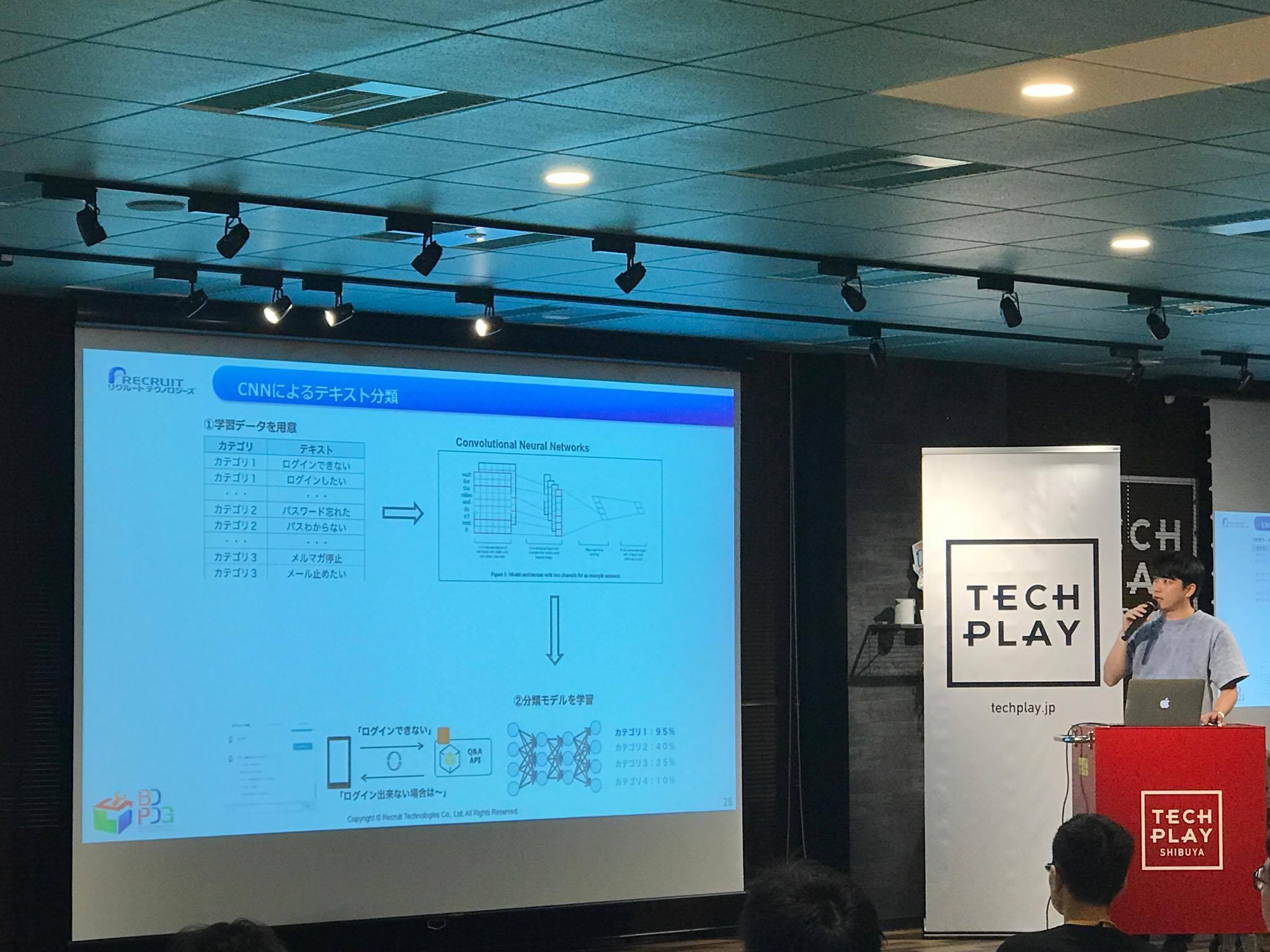 TECH PLAY CONFERENCE 2017で機械学習APIとChatbotの話をしました
