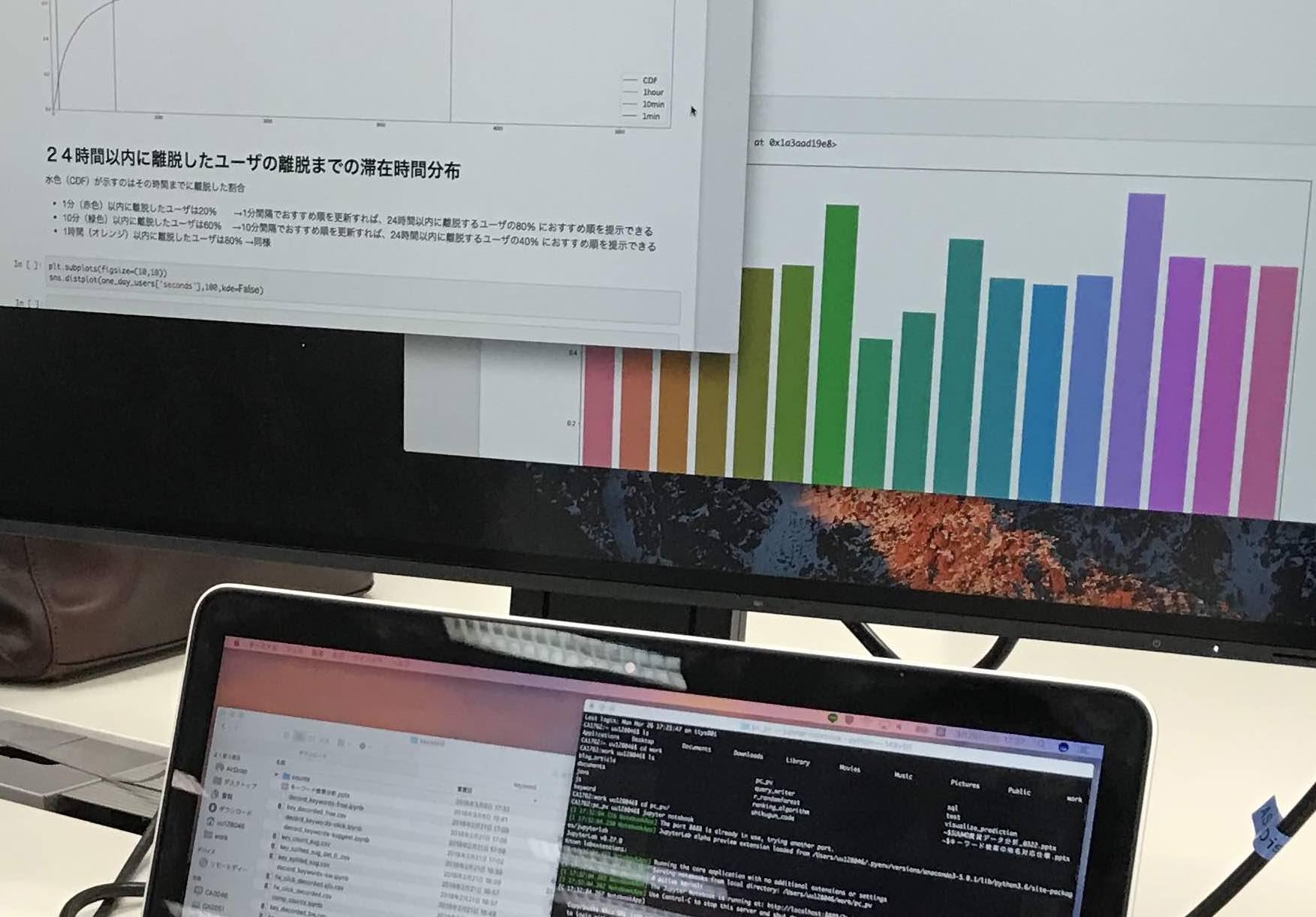 開発側のエンジニアがデータ分析をするメリットについてインターンシップで学んだこと