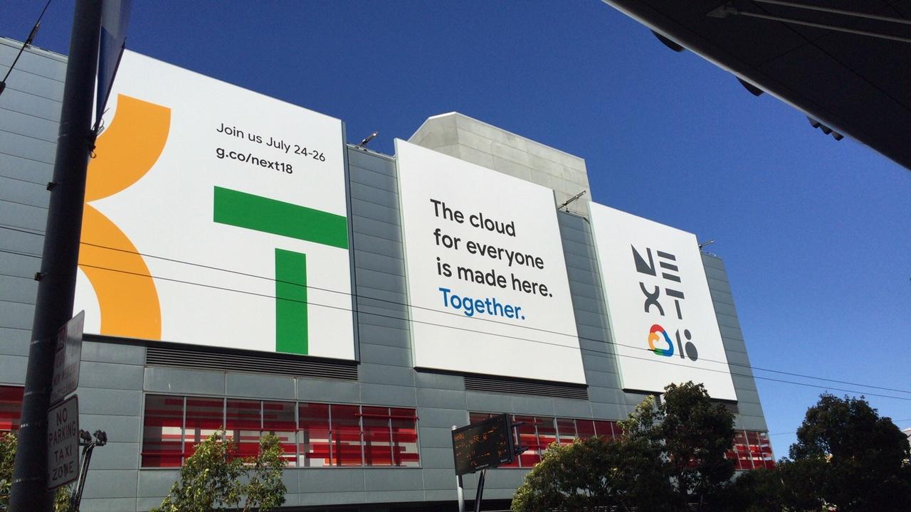 Google Cloud Next'18に参加してきました