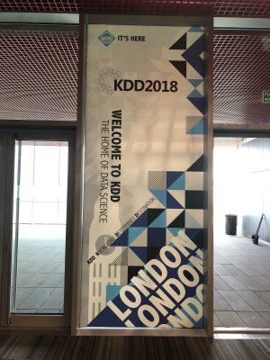 KDD2018@LONDONに参加してきました!