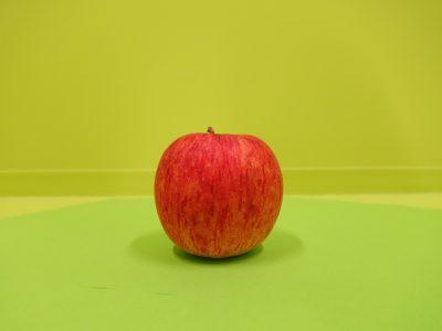 グリーンバックりんご