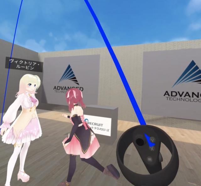 Oculus Quest VR空間でのLocomotionの実装