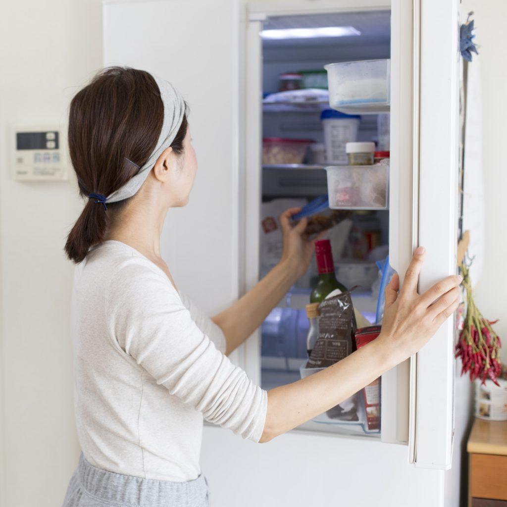 冷蔵庫 収納 Zehitomo リフォーム ハウスクリーニング