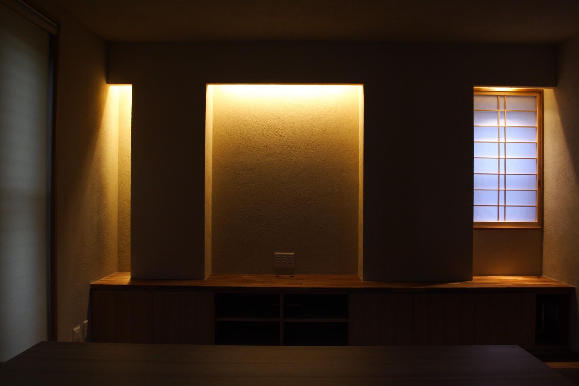 設計事例「陰影のある住まい」2