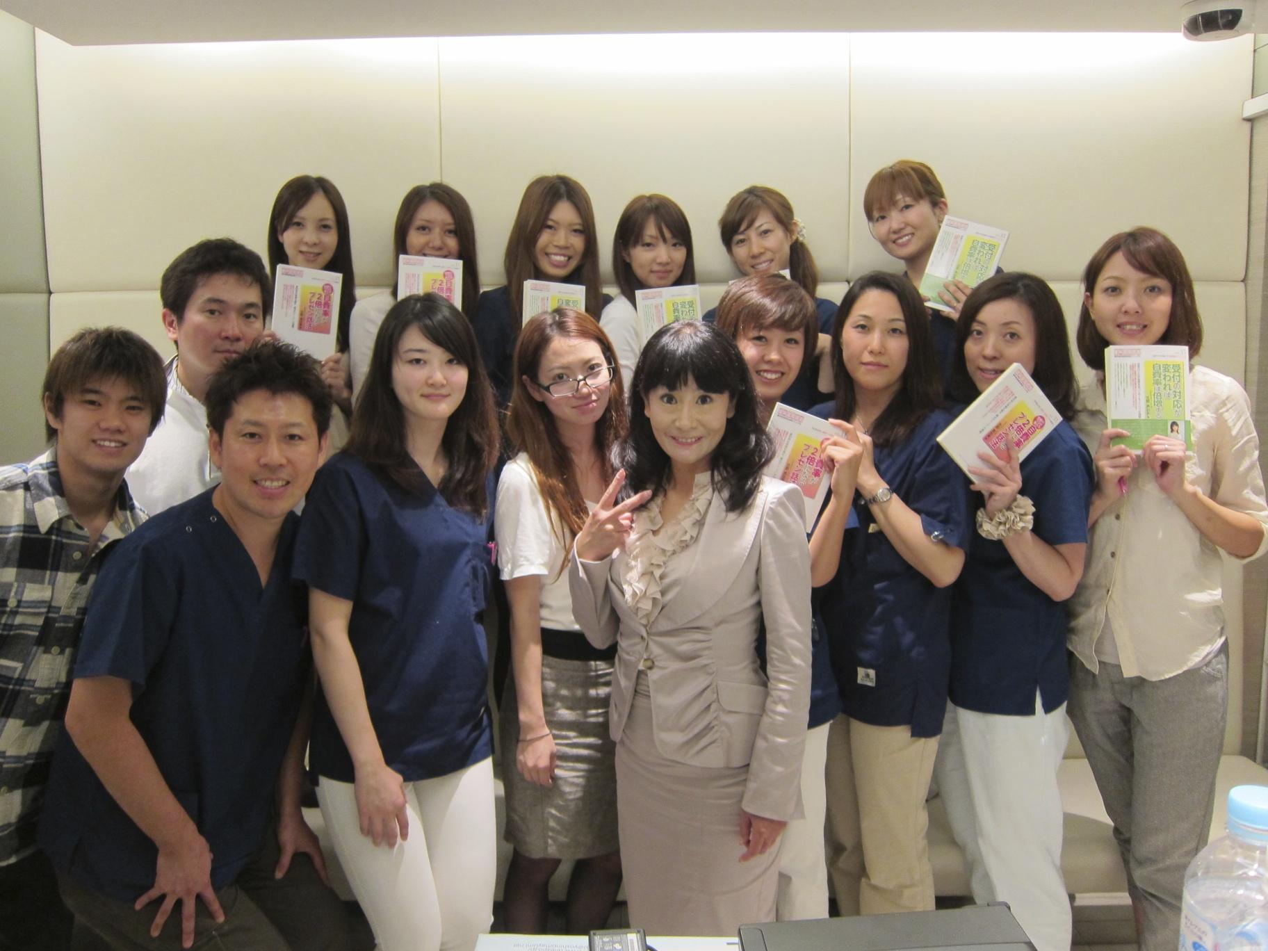 吉野真由美先生をお迎えして院内研修会
