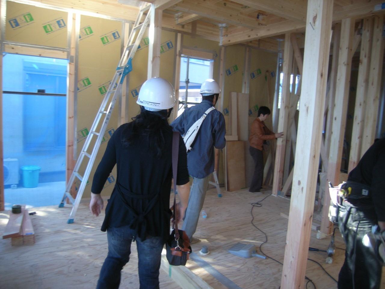 11月25日(日)北区西が丘 FPの家構造見学会を行います!