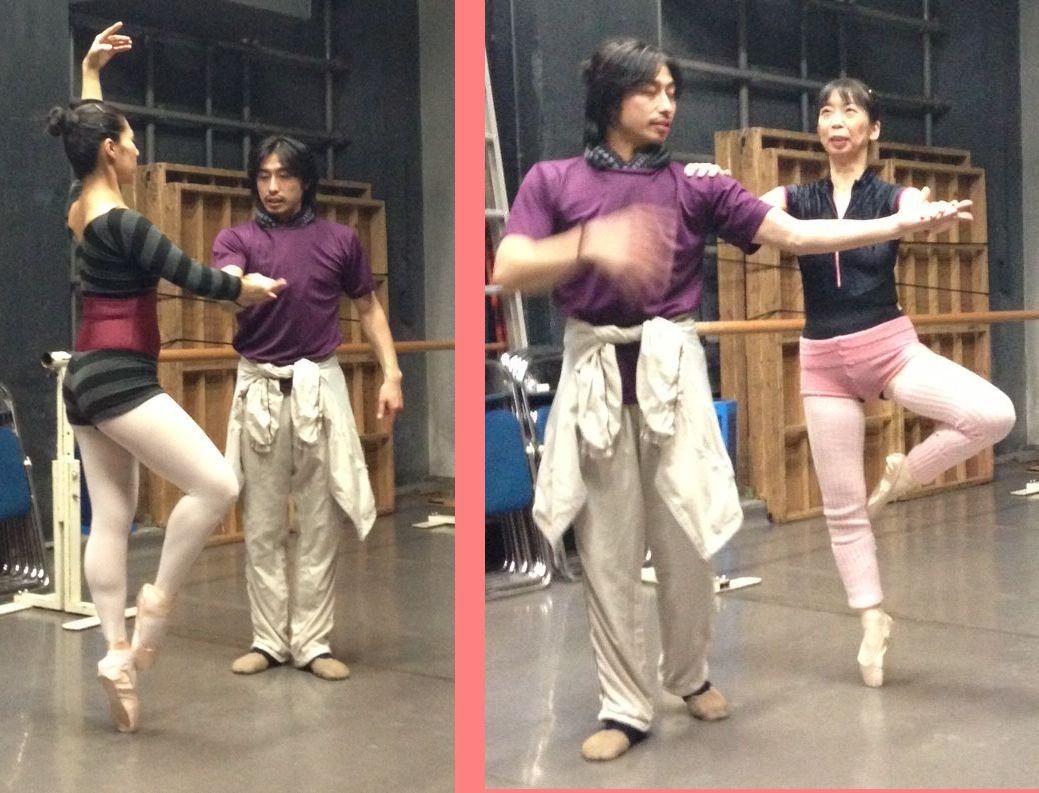 そろそろ男性と踊るアダージオクラスを再開しようと思います。