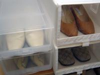 ブーツの季節に気づく靴収納のこと